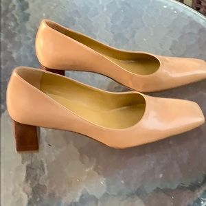 Enzo Angiolini Metaphor Pump in Tan Leather 7.5